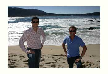 Winemakers of Twin Fin Wines